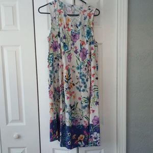 J. Jill Rayon Sleeveless Dress